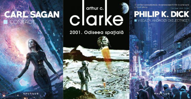 10 cărţi pe care orice fan SF trebuie să le citească