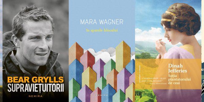 Cele mai căutate cărţi Nemira la Bookfest 2017