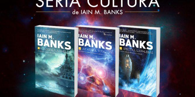 """Optimismul lui Iain M. Banks din seria """"Cultura"""""""