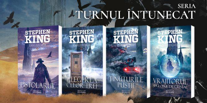 Turnul întunecat, de Stephen King, acum în colecția Nautilus, odată cu lansarea filmului în cinematografe
