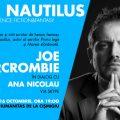 Serile Nautilus – Joe Abercrombie în dialog cu Ana Nicolau la Librăria Humanitas de la Cișmigiu