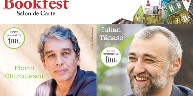 Scriitorii Florin Chirculescu și Iulian Tănase – invitați la FILIT 2017