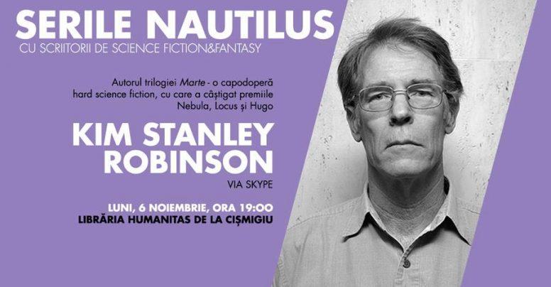 Serile Nautilus: Kim Stanley Robinson, autorul Trilogiei Marte