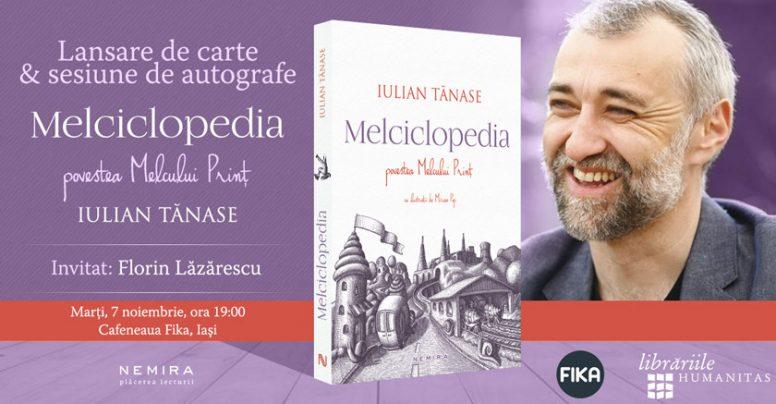 Iulian Tănase aduce Melciclopedia. Povestea Melcului Prinț la Iași, Cluj, Târgu Mureș și Timișoara
