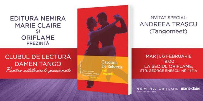 Clubul de lectură Damen Tango – a doua întâlnire pe ritmuri de tango