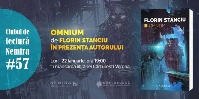 Clubul de lectură Nemira #57: Omnium, de Florin Stanciu