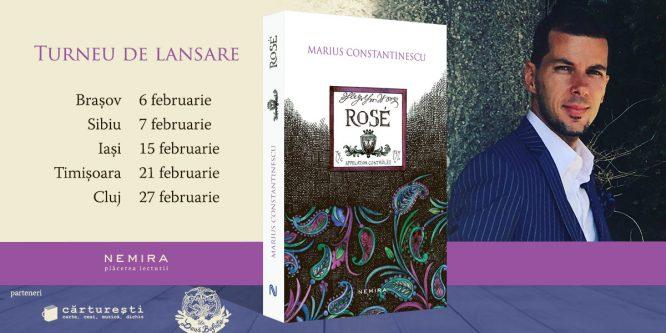 """Jurnalistul Marius Constantinescu în turneu de lansare a cărții """"Rosé"""""""