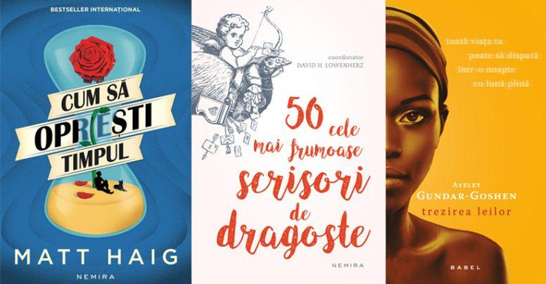 Cărți in pregătire la Nemira în luna februarie