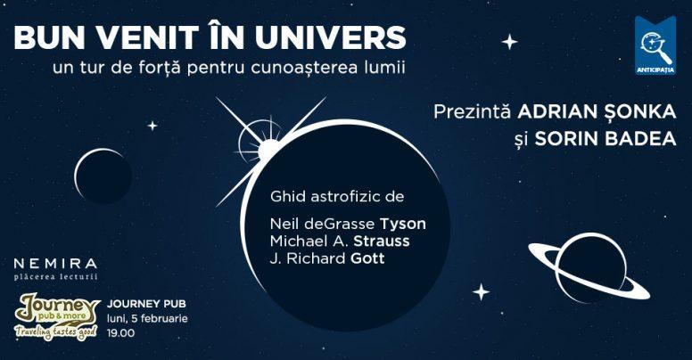 Bun venit în univers – Un tur de forță pentru cunoașterea lumii