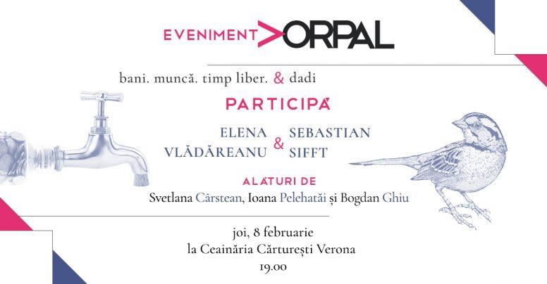 Seară de poezie Vorpal – cu Elena Vlădăreanu și Sebastian Sifft