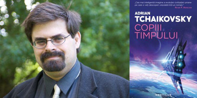 Păianjeni, Alien, Battlestar Galactica și un interviu cu Adrian Tchaikovsky
