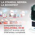 Experiență totală pentru fanii SF&Fantasy! Exclusiv la standul Nemira @ Bookfest: simulator VR 9D