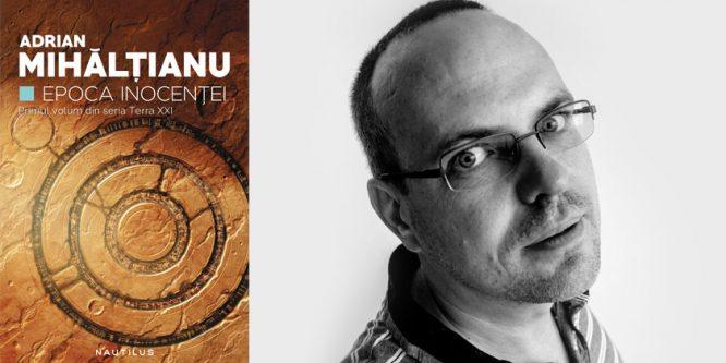Scriitorul Adrian Mihălțianu – finalist pentru Premiul Fundației Global Challenges