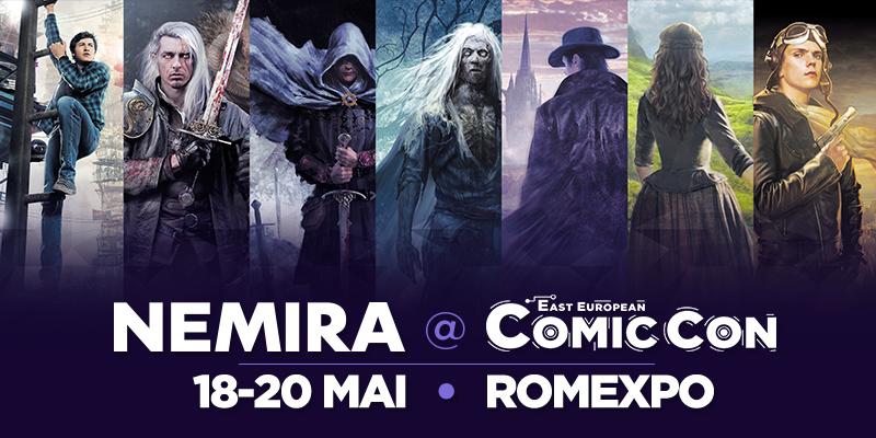 Nemira la ComicCon 2018