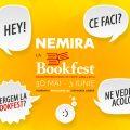 Editurile Nemira și Nemi la Salonul Internațional de carte Bookfest 2018