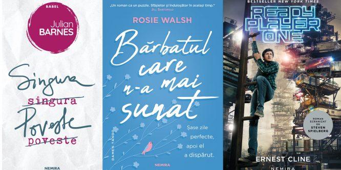 Cele mai căutate cărți Nemira la Bookfest 2018