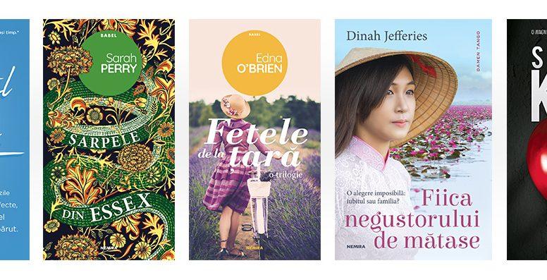 Cele mai citite cărți Nemira din vara 2018