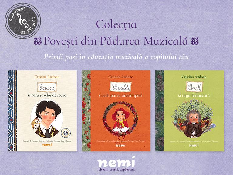 Povestile din Padurea Muzicala continua!