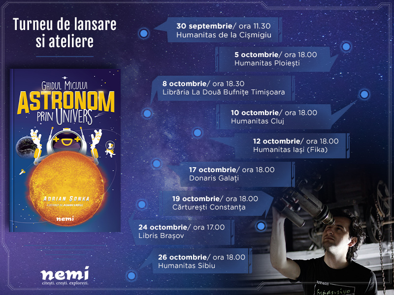 Turneu Ghidul micului astronom prin Univers
