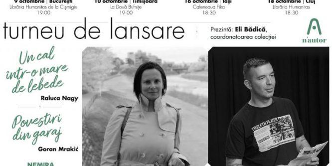 Raluca Nagy și Goran Mrakic merg la București, Timișoara, Iași și Cluj în turneu n'autor