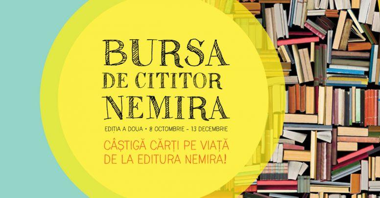 Bursa Nemira – cărți pe viață pentru elevi, ediția 2018 – Citim și călătorim prin imaginație