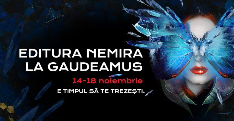 Editura Nemira vă așteaptă la Gaudeamus 2018!
