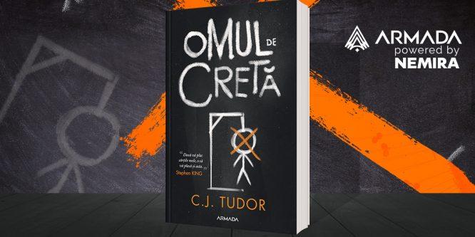 """""""Omul de cretă"""", de C.J. Tudor, thriller-ul pe care trebuie să-l citești în 2019"""