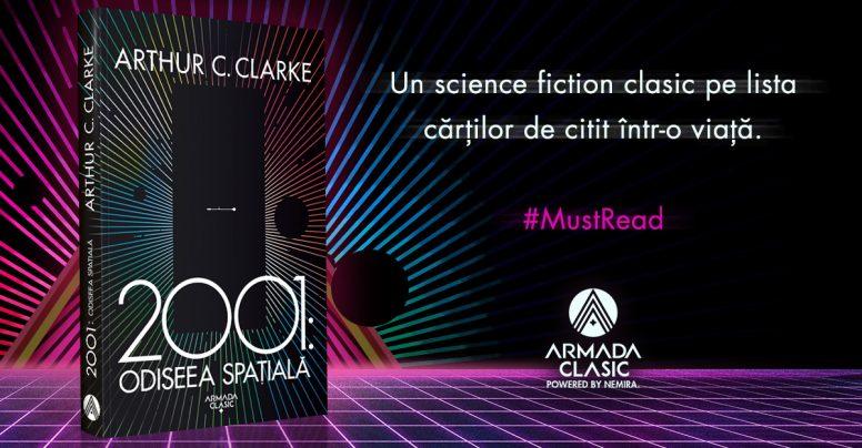 2001: Odiseea spațială, de Arthur C.Clarke, BEST SF EVER