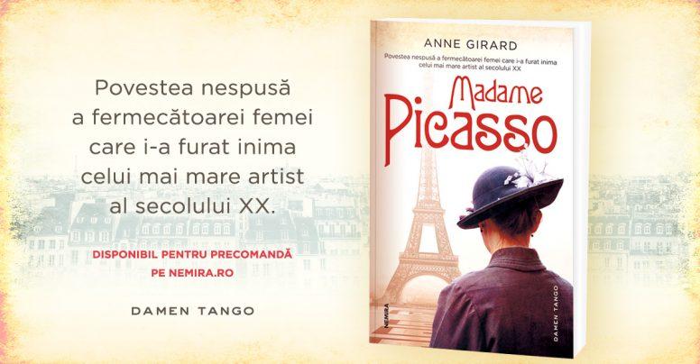 Povestea nespusă a femeii care i-a furat inima lui Pablo Picasso – Madame Picasso, de Anne Girard [FRAGMENT]