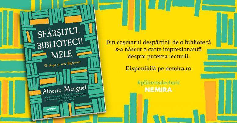 Sfârșitul bibliotecii mele, de Alberto Manguel [fragment]