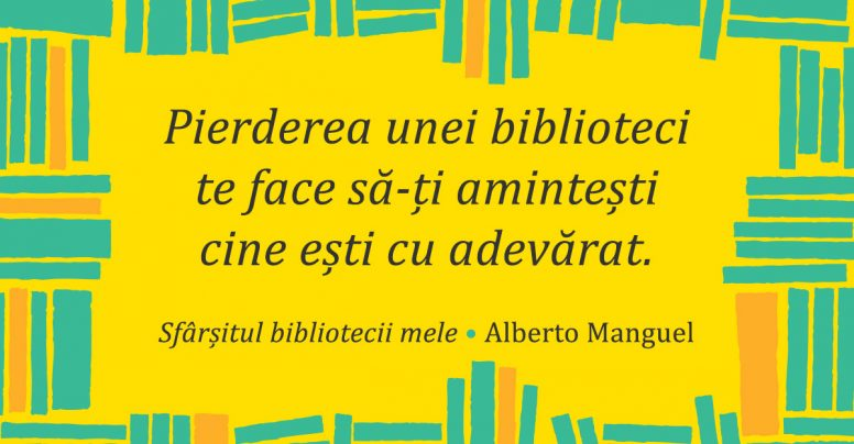 Cum ia sfârșit o bibliotecă? Gânduri de la Alberto Manguel