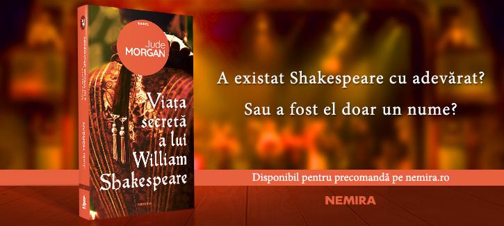 Viața secretă a lui William Shakespeare – un roman care trage cortina și arată omul din spatele legendei