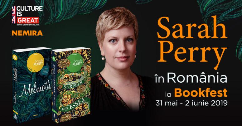 Scriitoarea Sarah Perry vine în România – la Salonul Internațional de carte Bookfest 2019