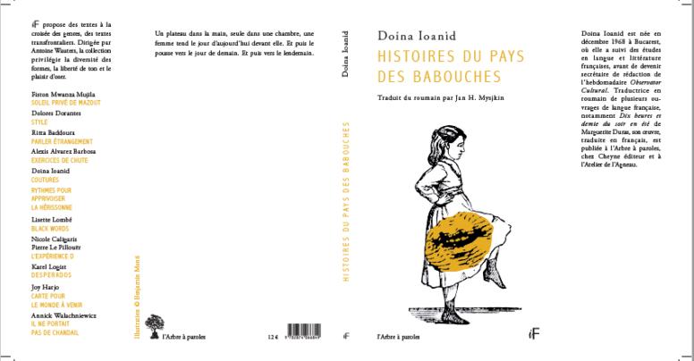 Cele mai mici proze, de Doina Ioanid, a fost tradusă în franceză! Histoires du Pays des Babouches