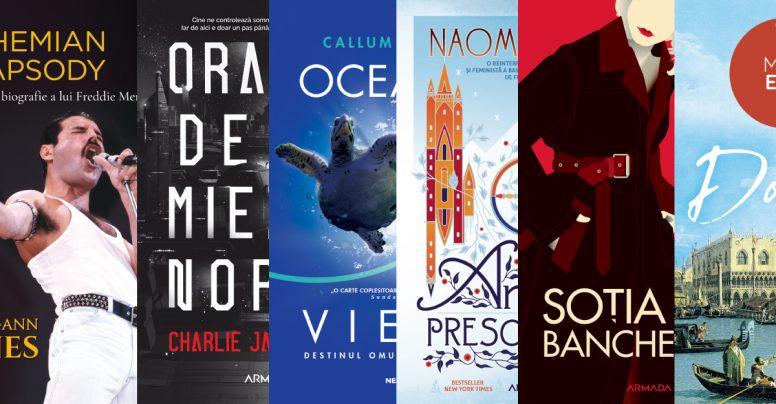 Cărți în pregătire pentru toamna lui 2019