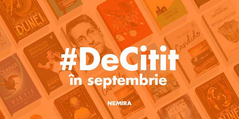 #decitit în septembrie