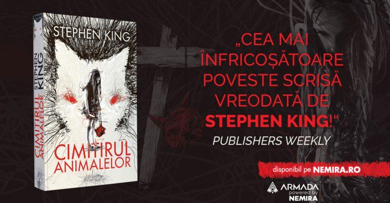 Două romane clasice de Stephen King apar în Armada: Doctor Sleep & Cimitirul animalelor