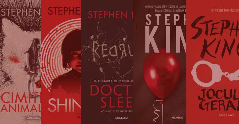 Top 5 cărți horror de Stephen King pe care să le citești cu becul stins