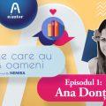 """Cărțile care au scris oameni – Ana Donțu: """"Da, mi se întâmplă să mai plâng la unele cărți"""""""