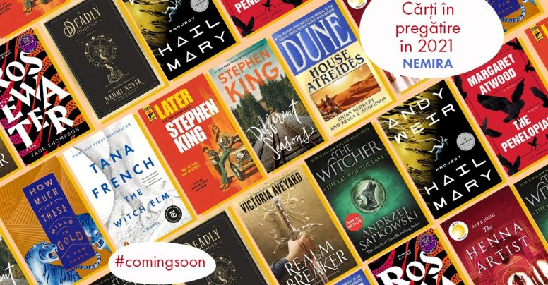 #ComingSoon: cărți în pregătire pentru 2021