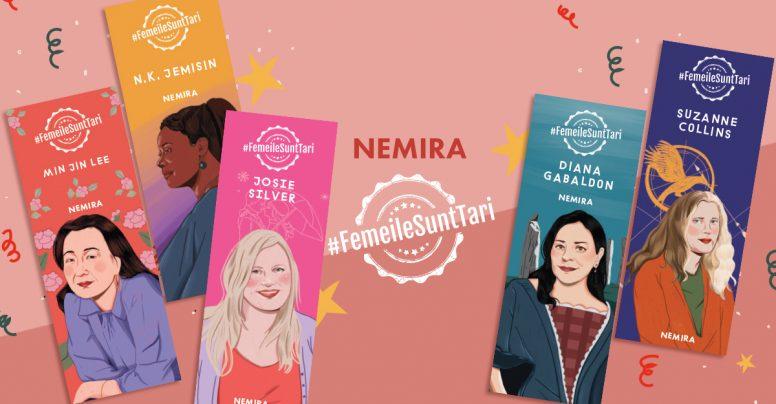 Protected: 5 semne de carte și wallpapers pentru telefon cu 5 scriitoare Nemira