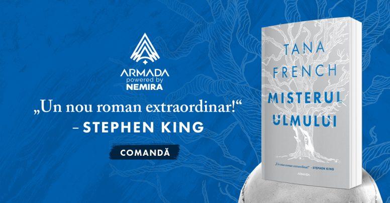 Misterul ulmului – un nou thriller în Armada