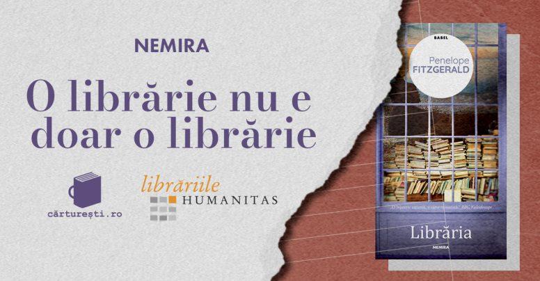 O librărie nu e doar o librărie – o campanie Nemira, Humanitas & Cărturești