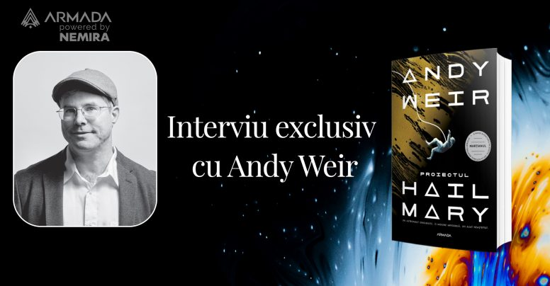 Interviu exclusiv cu Andy Weir pentru cititorii din România