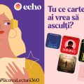 Primele audiobook-uri Nemira pentru o experiență 360 a plăcerii lecturii – disponibile pe Echo.ro, primul app de audiobook-uri în română